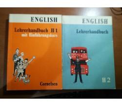 Lehrerhandbuch H1 e H2 - 1970,  Cornelsen