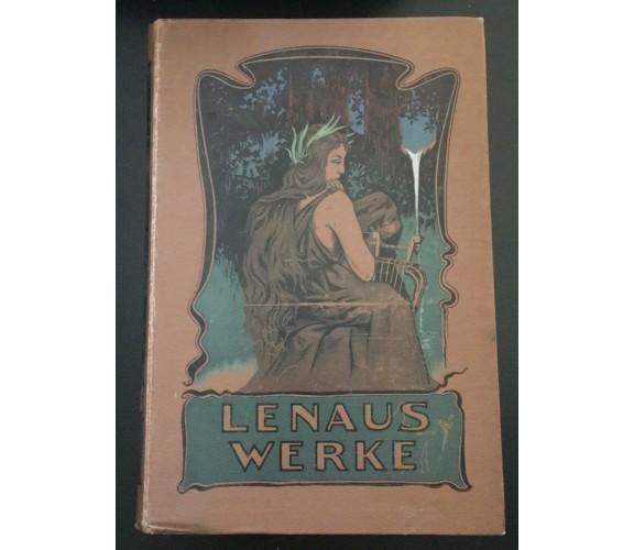 Lenaus Werke- Nikolaus Lenaus,  Deutsche Verlags-anstalt - P