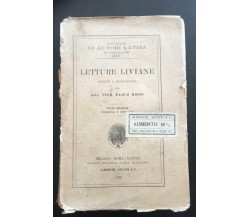 Letture Liviane - Pier Marco Rossi,  1912,  Società Editrice Dante Alighieri - P