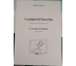Li piripizii di Pinocchiu. Traduzione in siciliano de Le avventure di Pinocchio