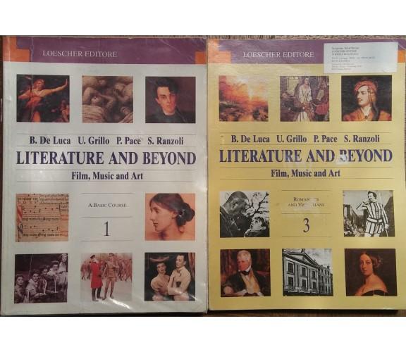 Literature and Beyond Vol.1e3-B.De Luca,U.Grillo,P.Pace,S.Ranzoli-Loescher-R