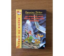 Lo strano caso della pantegana puzzona - G. Stilton - Piemme Junior - 2003 - AR