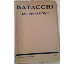 Lo zibaldone - Batacchi - L'aristocratica - 1926 - M