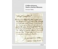 L'officio del poeta. Studi su Antonio Minturno di Gennaro Tallini,  2020