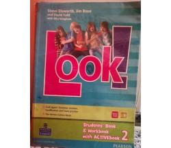 Look ! Students book con dvd di Elsworth,  2000,  Pearson -F