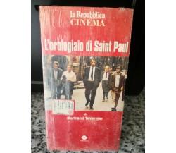L'orologiaio di Saint Paul - 1974  - vhs - La repubblica -F