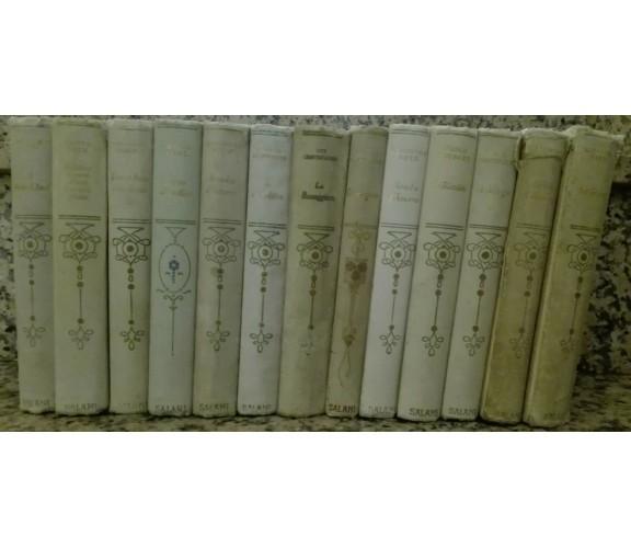 Lotto 13 vol. Collezione Salani letteratura romantica - Salani - A