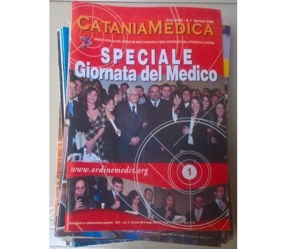 Lotto 30 riviste - Catania Medica 2005-2008 - Parole & Immagini - L