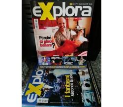 Lotto di 5 riviste Explora di A.a.v.v,  2006,  Explora -F