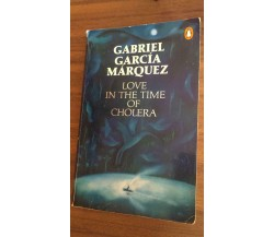 Love in the time of cholera - Gabriel García Márquez,  1989,  Penguin Books - P