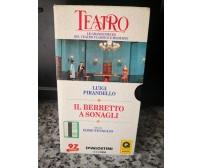 Luigi Pirandello - Il berretto a sonagli -vhs -1970 - deAgostini -F