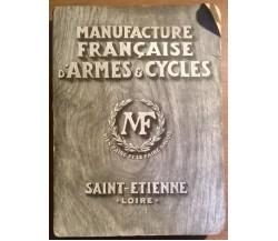 MANUFACTURE FRANCAISE D'ARMES E CYCLES - Saint Etienne - Loire, 1925 - L