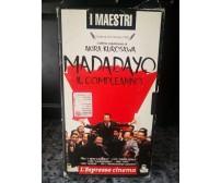 Madadayo il compleanno -Vhs- 1993 - L'Espresso cinema -F