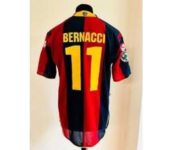 Maglia preparata match issued. Marco Bernacci - Bologna 2008 - 2009