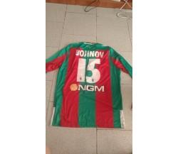 Maglia preparata match issued. Valeri Bojinov Ternana 2014 - 2015