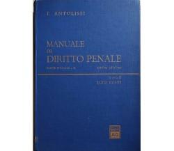 Manuale di diritto penale, Parte speciale II di Francesco Antolisei, 1977, Giuff