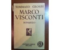 Marco Visconti - Tommaso Grossi - Bietti - 1936 - M