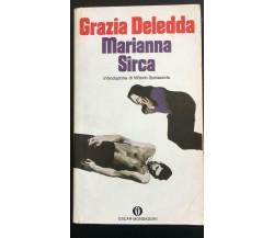 Marianna Sirca - Grazie Deledda,  1990,  Oscar Mondadori - P