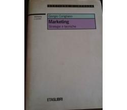 Marketing - Giorgio Corigliano,  1989 - Etaslibri  - C