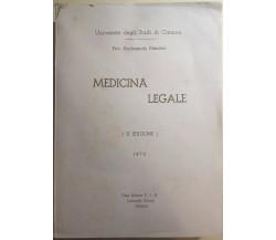 Medicina Legale di Prof. Ferdinando Nicoletti,  1972,  Casa Editrice Eia Leonard
