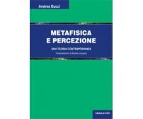 Metafisica e percezione. Una teoria contemporanea di Andrea Bucci, 2020, Tabula