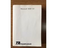 Microsoft DOS 5.0 - Triumph-Adler - 1991 - AR