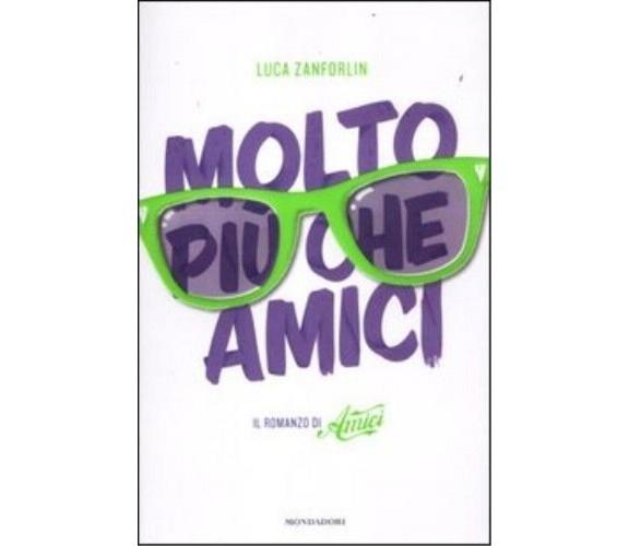 Molto più che Amici. Il romanzo di «Amici». Luca Zanforlin