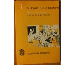 Mon Françasis Premier livre de français Vol. I - AA.VV. - Zanichelli,1963 - R