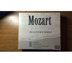 Mozart masterworks, limited edition 3 CD's - AR