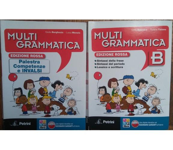 Multigrammatica+Vol.B Ed.Rossa-GiuliaBorghesio,LuisaMenzio-Petrini,2013-R