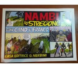 Nambi lo stregone - Cino e Franco - Nerbini - 1935 - M
