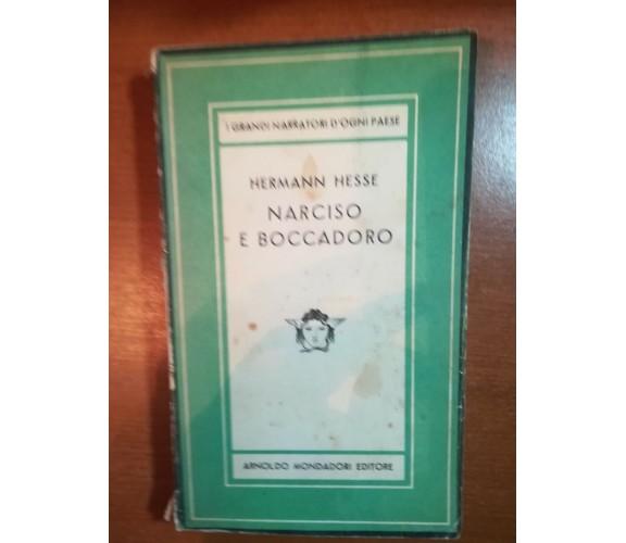 Narciso e boccadoro - Hermann Hesse - Mondadori - 1947 - M