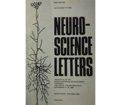Neuro-Science Letters - Aa. Vv. - 1984 - Elsevier - lo