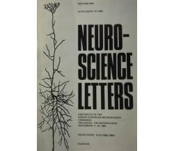 Neuro-Science Letters - Aa. Vv. - 1984 -n° 22 -  Elsevier - lo