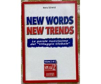 New Words New Trends - Bona Schmid - Sansoni -1997 - M