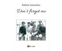 Non ti scordar di me - versione inglese  di Raffaele Immorlano,  2016 - ER