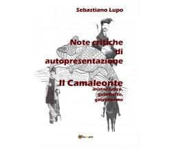 Note critiche di autopresentazione del romanzo Il Camaleonte aristocratico, gabe