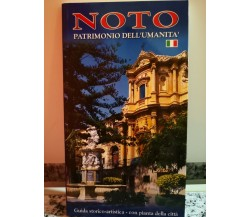 Noto. Patrimonio dell'umanità di Nuccio Lo Castro,  2005,Officina Grafica Bo-F