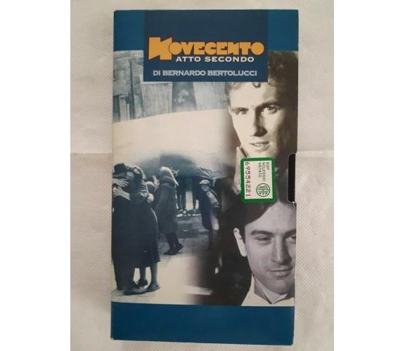 Novecento atto secondo di Bernardo Bertolucci - vhs- 1976 - L'Unità -F