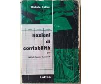 Nozioni di contabilità - Michele Balice - 1980,  Lattes - L