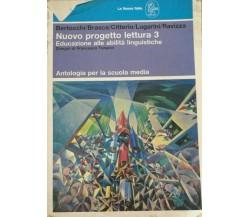Nuovo progetto lettura 3 -  Aa.vv. - 1992 - La Nuova Italia - lo