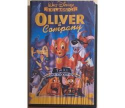 Oliver e Company VHS di Aa.vv.,  1988,  Walt Disney