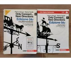 Only Connect...New Directions edizione blu 1 e 2 + CD-ROM - Zanichelli -2011- AR
