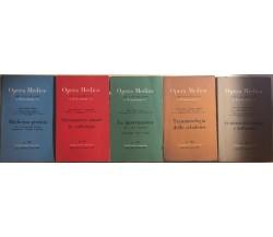 Opera medica nr. 98-99-100-102-105-112 di AA.VV., 1956, Siset