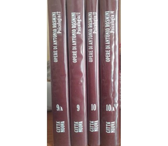 Opere di Antonio Rosmini - Psicologia 1-2-3-4 - Antonio Rosmini, 1988 e 1989 - S