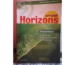 Options Horizons di Simonetti,  2010,  Oxford -F
