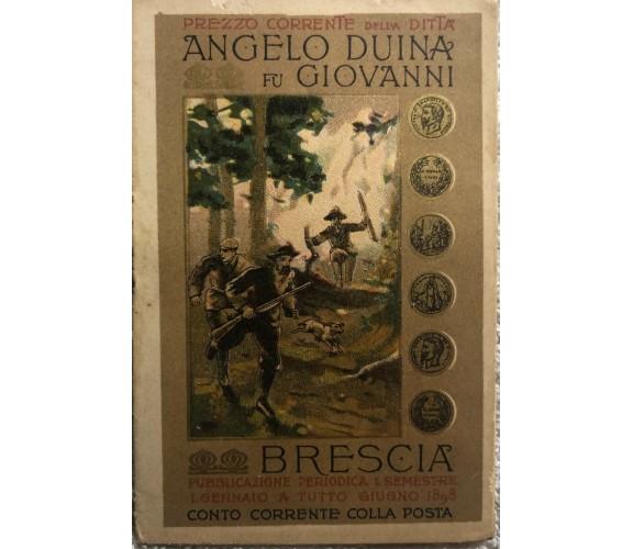 Opuscolo Angelo Duina fu Giovanni di Angelo Duina,  1898,  Ee.vv.