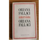 Oriana Fallaci intervista Oriana Fallaci - Corriere della sera - 2004 - AR