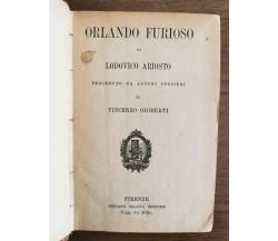 Orlando Furioso - L. Ariosto - Salani - 1913 - AR