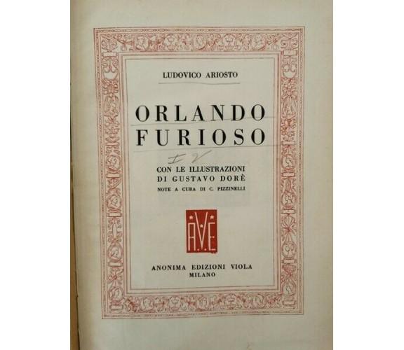 Orlando Furioso con illustrazioni di Gustavo Dorè - 1954 - ER